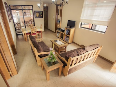 Living Area, TV, Cable, Phone