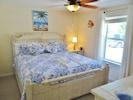 Ground floor N.W. corner bedroom with a king bed