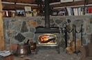 Woodstove in Main Great Room