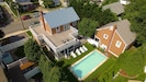 Aerial of House and Pool - note pool and deck upgraded - new picture coming