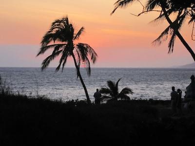 BREATHTAKING sunsets just across the street!