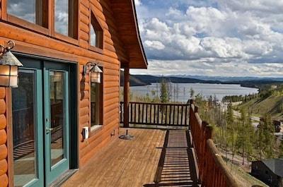 Amazing views of Shadow Mnt/Lake,Firepit,3Br/2Ba cozy cabin in Grand Lk,sleeps6