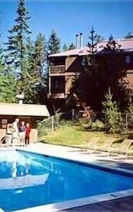 Old pool at top of Ptarmigan Village