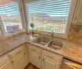 Updated kitchen, with views!