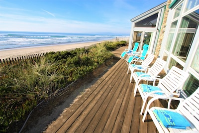 Pajaro Dunes - three rows of homes right on the dunes! House 46 is front row!!