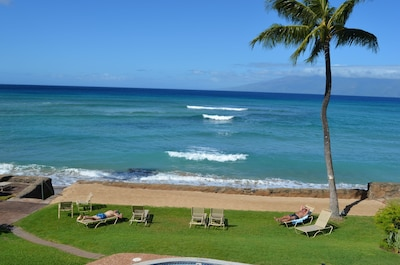 View from lanai.  It's a perfect day!
