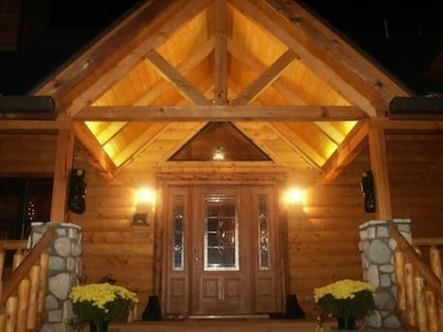 Designed as a luxury vacation cabin with all of the most popular amenities