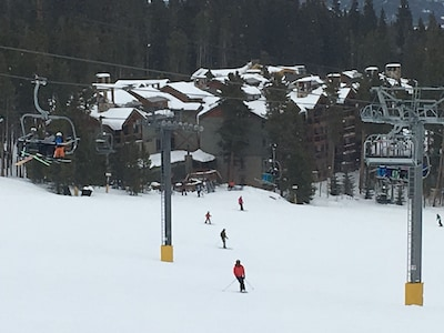 Best location in Breckenridge! Literally on the slopes. No walking, no poling.