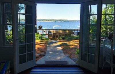 Wow! What a view... White Lake is waiting for you!