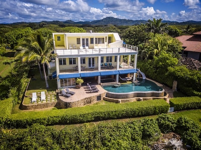 Casa Ola Perfecta.......contemporary beachfront home with a tropical surf style