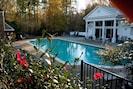 Enjoy deep water pool
