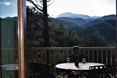 New Luxury Cabin Upper Canyon Sierra Blanca View Close To Town Ruidoso