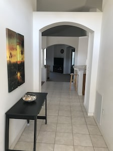 spacious entry