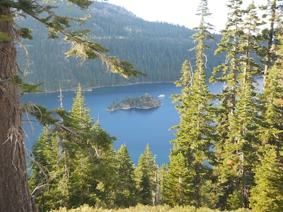Tour around the lake, go hiking, ride bikes.  Take a cruise on the Tahoe Queen.