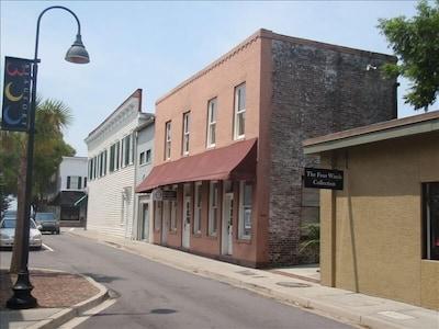 Historic Downtown, Beaufort, Caroline du Sud, États-Unis d'Amérique