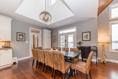 Dining Area with Walk out to Deck!