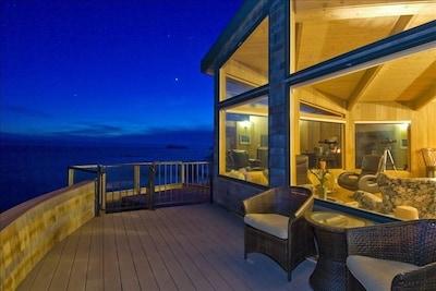 Oceanfront Evening View