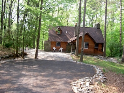 Time to relax in our Cabin built in 1925 and a member of the Historical Society!