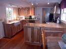 Kitchen from sunroom