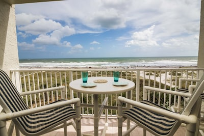 Direct Oceanfront View from Balcony