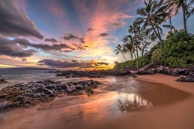 Beautiful Secret Beach on South Maui
