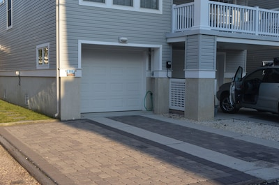 Rear one car garage and off-street parking pad
