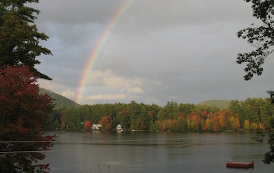 Rainbow over Forest Lake Fall 2012