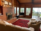 Panoramic whitewater views from most rooms. Enjoy the fireplace and whale watch