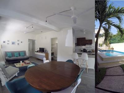 Apartamento super equipado cerca de la playa y 5ta Avenida