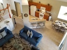 Open to above family room