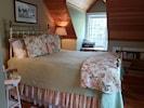 Bedroom, Queen Bed, Two Large Windows