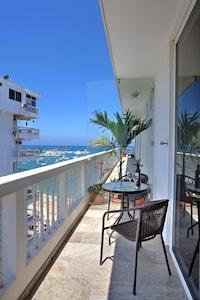 View of Terrace Sitting area and San Lorenzo beach