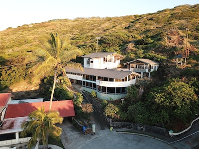 Aerial Drone Photo of the AlohaPalace com at 118 Kekaha Place looking Eastward.