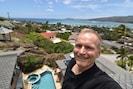 Owner MilanFrankVacek, a selfie photo from  MasterBedroom, View of DiamondHead!