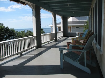 West Facing Porch - Ipswich Bay View