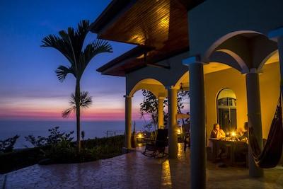 Sunset at Casa Cola Ballena