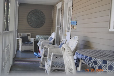 Sreened Porch Located off Kitchen and Dining Room