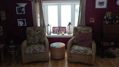 Our big comfy living room chairs are waiting for you!