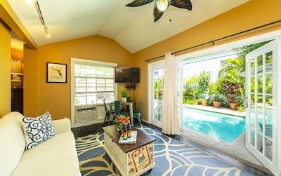 Rose Lane Villas - Villa Aqua - 2 King Bedrooms - Downtown Key West