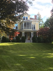 View of house from front lawn