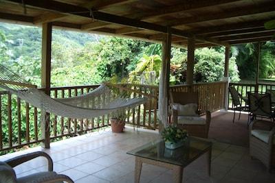 Terrace with Hammock