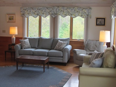 Comfortable seating for the whole family and friends