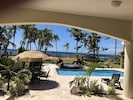 View from covered lanai