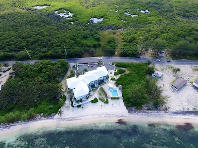 Aerial view of Condos