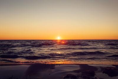 Great sunset views!
