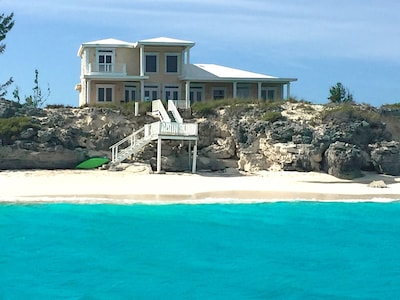 House from our kayak
