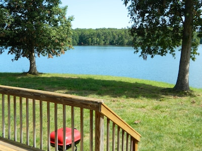 Main lake as seen from deck