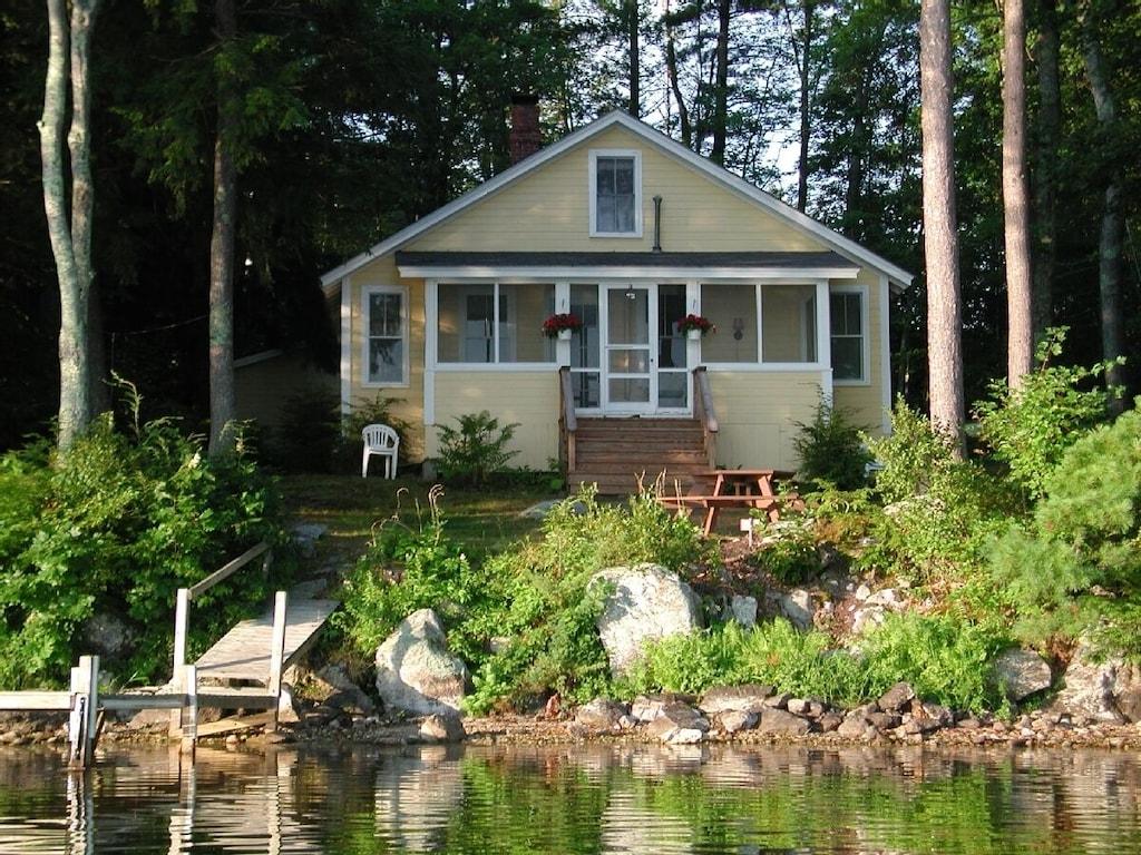 Charming Cottage on Mirror Lake, NH,lakeside, $20,20/20,20 wk ...