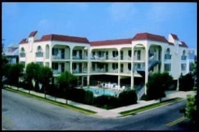 Full view Seville by-the-Sea Condominiums