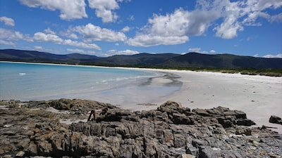 Our beach, perfect for SUP, kayak, swimming and snorkelling